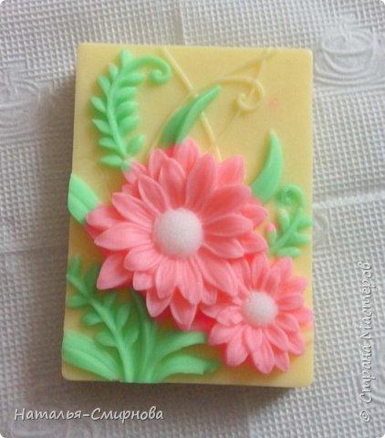 Хочу показать Вам немножко мыла, которое делала  к 8 Марта и ко Дню Валентина фото 1