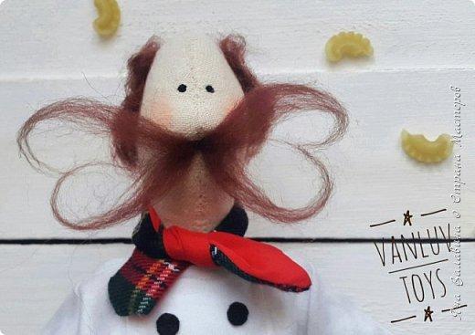 Так вышло, что я ввязалась в авантюру совместного пошива.. и получился после этого мой первый игрушка-мужчина, да ещё и тильда-человечек)))) фото 1
