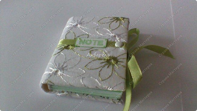 Еще сделала блокнотиков, чуть-чуть.... Блокноты маленькие, делать их удобно и не сложно.  фото 11