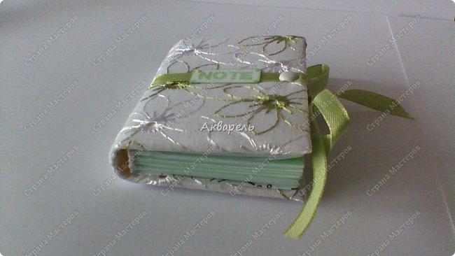 Еще сделала блокнотиков, чуть-чуть.... Блокноты маленькие, делать их удобно и не сложно.  фото 12