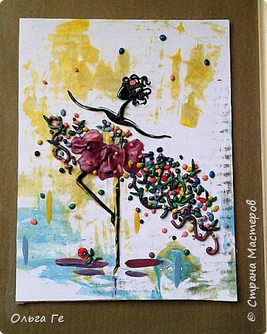 Пластилиновая балерина фото 1