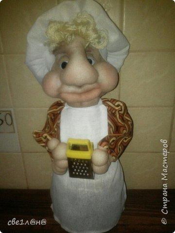 Мои первые куклы повар Соня фото 2