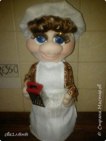 Мои первые куклы повар Соня фото 1