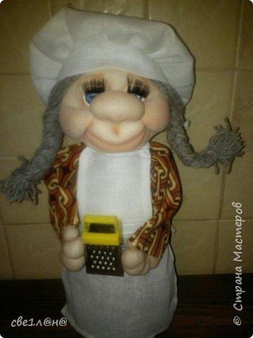 Мои первые куклы повар Соня фото 4