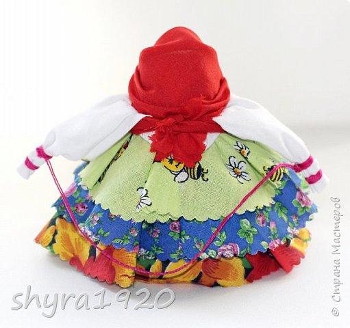 """Моя первая Народная кукла, мне очень понравилось делать такие куколки. Эту я сделала по МК Натальи """"Ликма"""", влюблена в работы  Мастерицы и постоянно любуюсь ими. фото 2"""