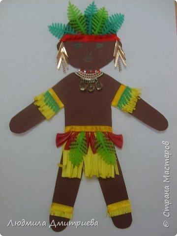 Добрый день. Принимайте в хоровод и кукол из города Ульяновска. Африканский мальчик. Из какой страны мы конкретно не определили. Есть много народов и племен. Поэтому и получился собирательный образ. Сколько не рассматривали фотографий, лица детей там очень грустные. фото 1