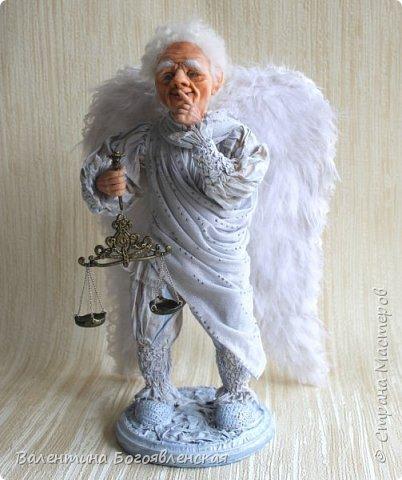 Вот этот ангел у меня родился, когда я нашла стихи Галина Воленберг.............. Как-то сразу сложился образ !!!! .... На ваш суд... фото 1
