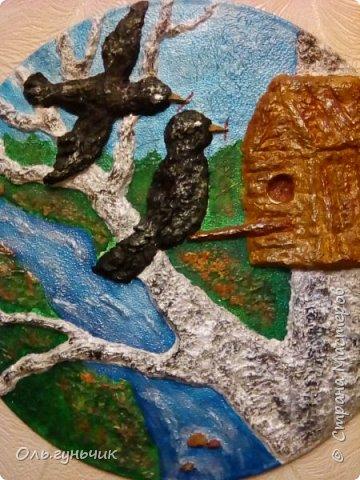 Всем привет!  И снова я с поделками для дачи))) На этот раз пано-картины из папьешки. фото 8