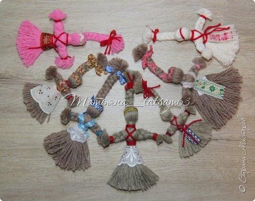 Появились у меня недавно новые веревочные куклы из пряжи, вот и решила их показать, а заодно и старые. фото 24