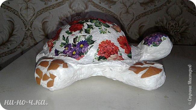 Моя черепашечка в летнем стиле. фото 8