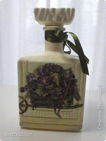 Прованс 3 (декупаж бутылок) фото 1