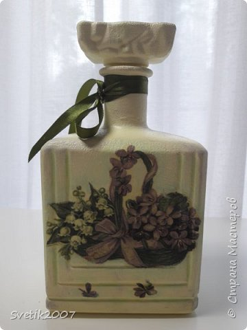 Прованс 3 (декупаж бутылок) фото 4