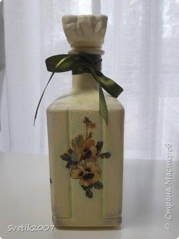 Прованс 3 (декупаж бутылок) фото 3