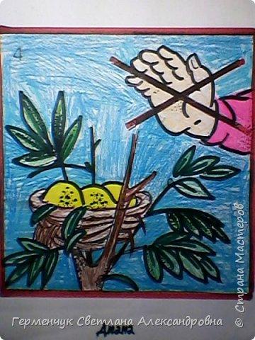 Эту серию раскрасок ребята готовили  по охране природы,животных..Некоторые раскраски оформили в виде плакатов-призывов по правилам поведения на природе и взрослых, и детей  ,чтобы не причинять вред  растениям , животным, насекомым.Получились рисунки-плакаты   проникновенными,убедительными, чтобы  все   задумались -какая  земля  останется  после нас?!!!   Ребята, вы справились   замечательно!!  МОЛОДЦЫ!!! фото 13