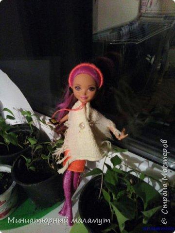 Привет! Я сдаю работу на конкурс кукольная мода. Простите что нет обуви -так и не научилась её делать. Но зато будет фотоистория. фото 3