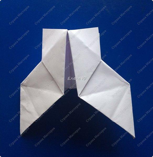 Космонавт складывается из 3 классических двухтрубных пароходов-оригами  фото 11