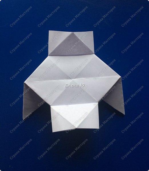 Космонавт складывается из 3 классических двухтрубных пароходов-оригами  фото 12