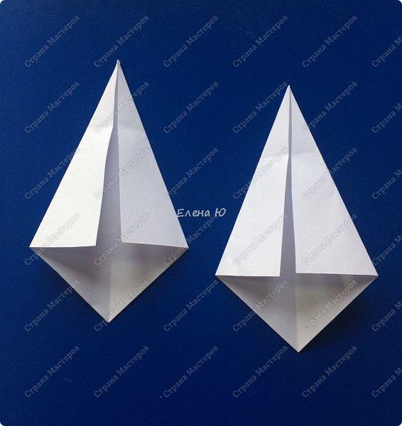 Космонавт складывается из 3 классических двухтрубных пароходов-оригами  фото 14