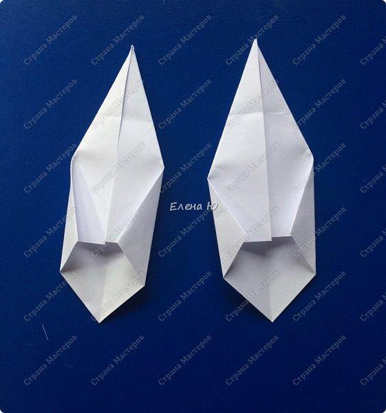 Космонавт складывается из 3 классических двухтрубных пароходов-оригами  фото 15