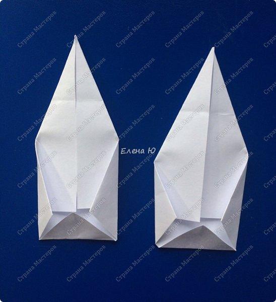 Космонавт складывается из 3 классических двухтрубных пароходов-оригами  фото 16