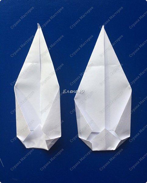 Космонавт складывается из 3 классических двухтрубных пароходов-оригами  фото 17