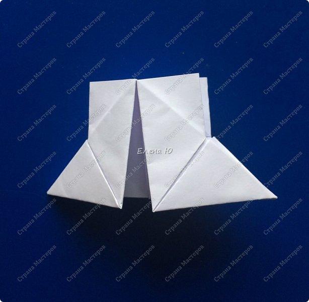 Космонавт складывается из 3 классических двухтрубных пароходов-оригами  фото 5