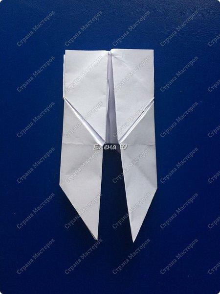Космонавт складывается из 3 классических двухтрубных пароходов-оригами  фото 9