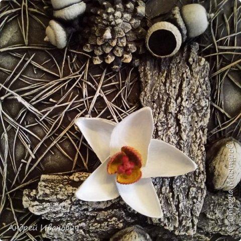 Панно Нарциссы в лесу фото 6