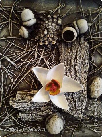 Панно Нарциссы в лесу фото 3