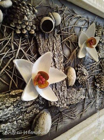 Панно Нарциссы в лесу фото 4