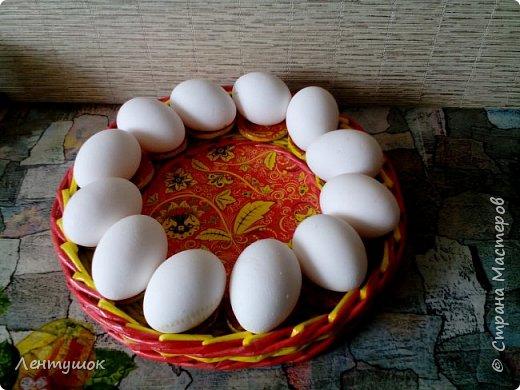 Добрый день, дорогие гости! Готовлюсь к Пасхе, наплела подростков пасхальных на подарочки родным, и решила с вами поделиться.  фото 3
