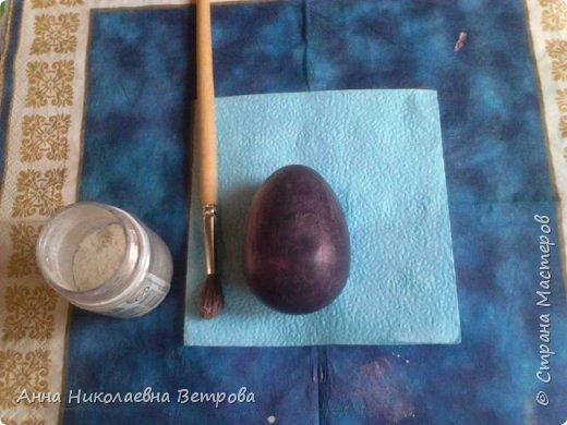 Скоро Пасха.Я хочу показать как можно сделать пасхальные яйца без специальной формы, так как они не всегда продаются в магазинах рукоделия. фото 9