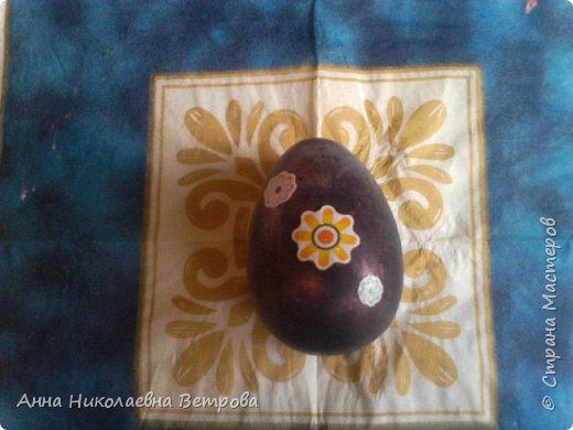 Скоро Пасха.Я хочу показать как можно сделать пасхальные яйца без специальной формы, так как они не всегда продаются в магазинах рукоделия. фото 12