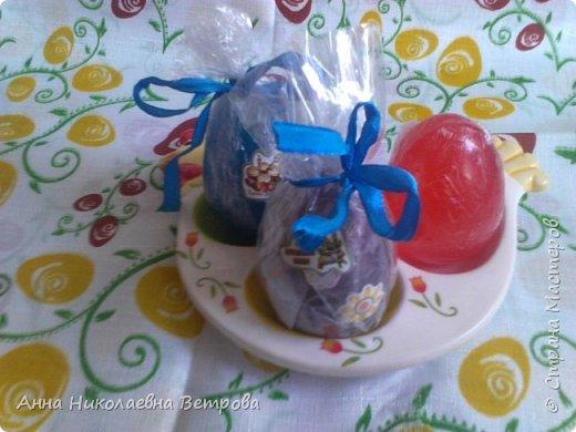 Скоро Пасха.Я хочу показать как можно сделать пасхальные яйца без специальной формы, так как они не всегда продаются в магазинах рукоделия. фото 1