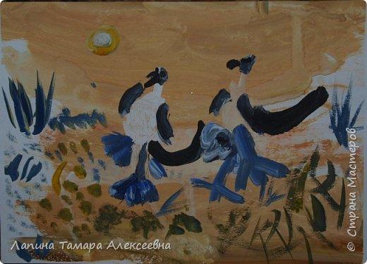 """на разные конкурсы города представили работы юные художники студии """"Вернисаж"""" под моим руководством.  Работа Ефимовой Полины, 12 лет """"«Творческие порывы моей души»"""" фото 6"""