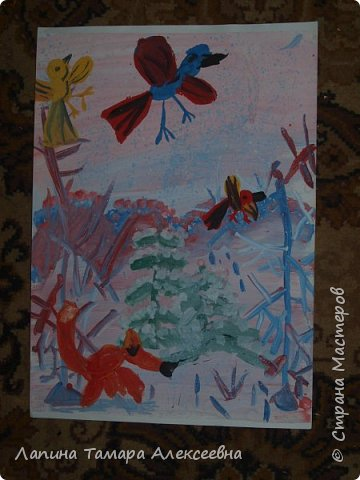 """на разные конкурсы города представили работы юные художники студии """"Вернисаж"""" под моим руководством.  Работа Ефимовой Полины, 12 лет """"«Творческие порывы моей души»"""" фото 5"""