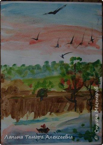 """на разные конкурсы города представили работы юные художники студии """"Вернисаж"""" под моим руководством.  Работа Ефимовой Полины, 12 лет """"«Творческие порывы моей души»"""" фото 8"""