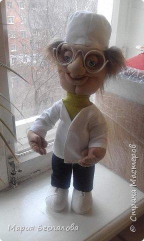 Моя первая кукла в этой технике) фото 3