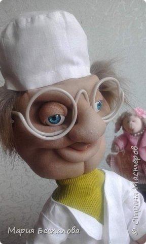 Моя первая кукла в этой технике) фото 1