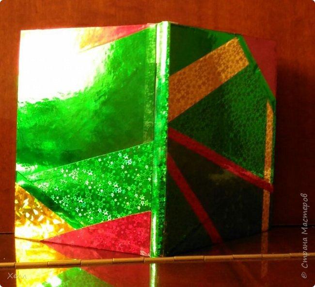 Такой вот яркий блокнот вышел у меня в подарок одной девочке.  Формат - А5 Самая яркая работа из тех, которые я когда-либо делала  фото 1