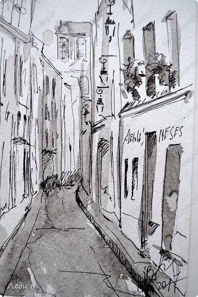 Доброе время суток, уважаемые обитатели СМ!  Долго, очень долго зрел этот маленький проект... после миниатюр с Прагой.  И вот созрел:)  Моя маленькая Франция, нарисованная тушью:)  Франция. Париж. Остров Сите.Ile de la Ciе. В основном все знают его со стороны Notre-Dame de Paris, но, право же, остров хорош с любой стороны. Добро пожаловать в сердце Парижа! фото 6