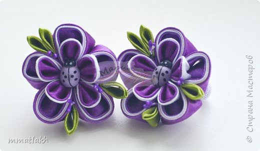 Миленькие цветочки....По МК MiLena фото 3