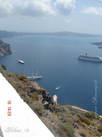 Здравствуйте, дорогие жители нашей прекрасной СМ! Приглашаю ВАС совершить  небольшое путешествие на греческий остров Санторини. фото 56