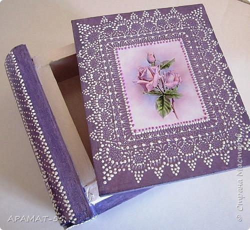 Здравствуйте. Сегодня покажу вам шкатулки-книжки.   Делала вот по этому МК  http://stranamasterov.ru/node/1082260?c=favorite фото 4