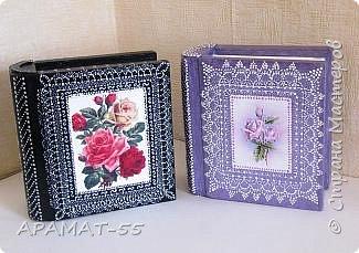 Здравствуйте. Сегодня покажу вам шкатулки-книжки.   Делала вот по этому МК  http://stranamasterov.ru/node/1082260?c=favorite фото 1