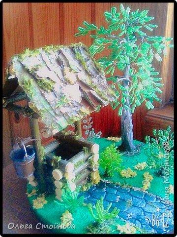 Колодец делала по мк Шадриной Ирины http://stranamasterov.ru/node/1015974?c=favorite,за что ей огромное спасибо!!! фото 3