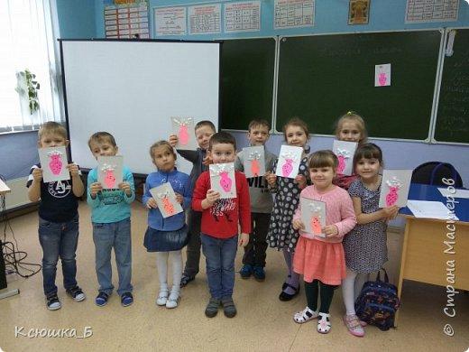 Делали с дошколятами открытки к вербному воскресению.  фото 3
