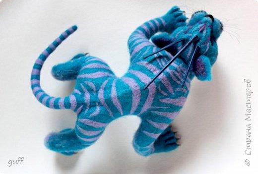 Фэнтази кот из шерсти фото 2