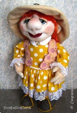 Это моя пятая кукла. Первые четыре уже подарены и фотографий не осталось фото 1