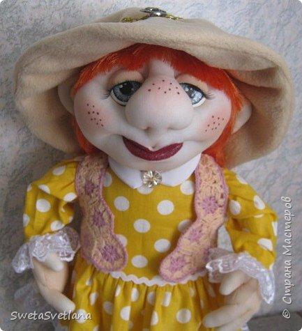 Это моя пятая кукла. Первые четыре уже подарены и фотографий не осталось фото 2